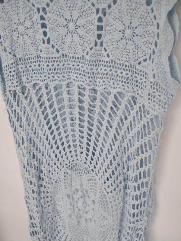 blusa crochet boho chic verano